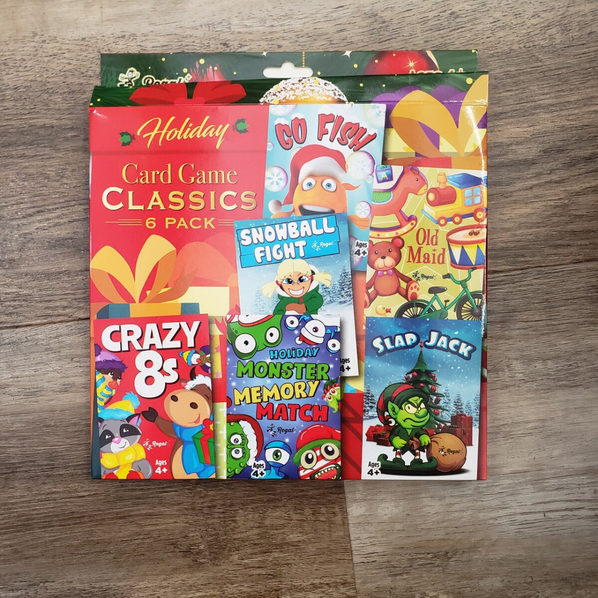Card Game Classic 6 pack