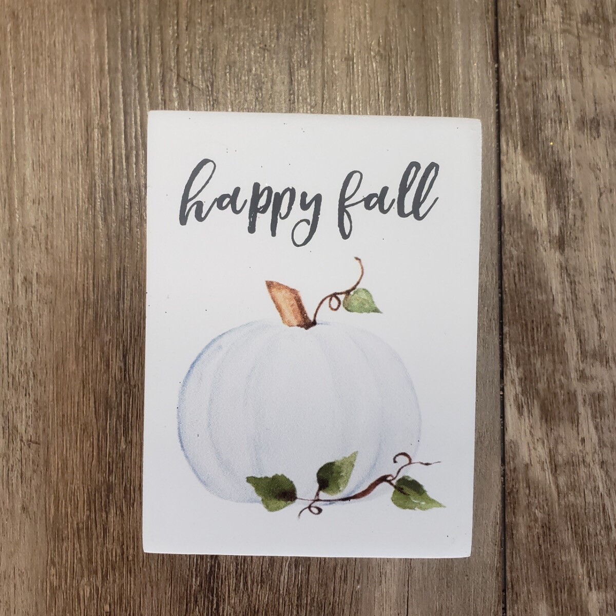 Pastel Pumpkin Sign