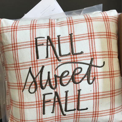 Fall Sweet Fall Pillow