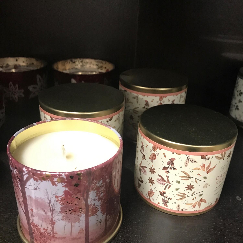 Cassia Clove LG Tin Candle