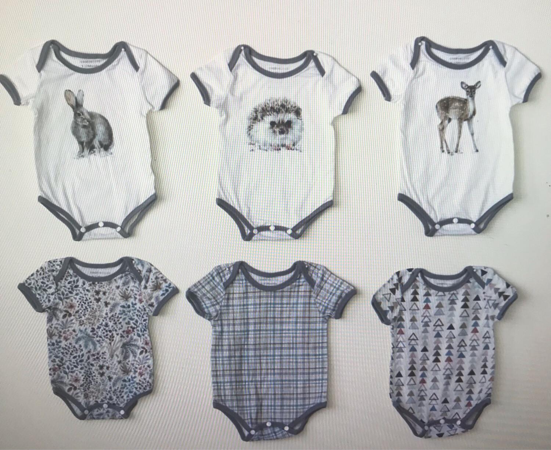 Cotton Baby Bodysuits