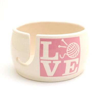 Love Knitting Bowl