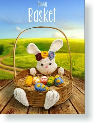 Easter Bunny Basket Pattern FREE