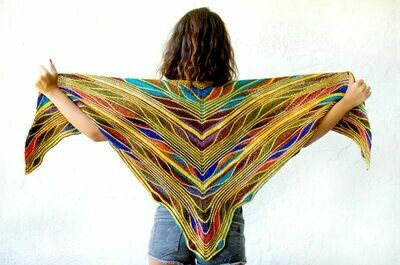 Papillon Shawl Kit