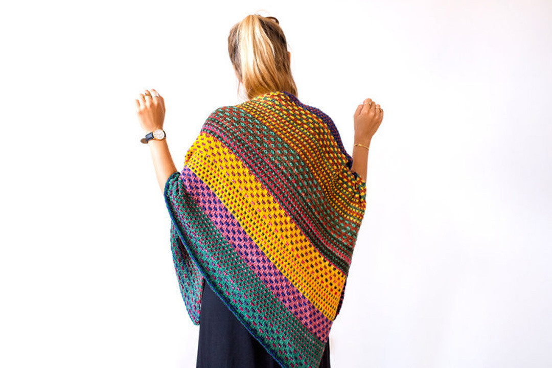 NightShift Shawl Kit (five color kit)