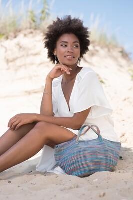 Spiaggia Pattern FREE with purchase of Berroco Medina yarn in pattern