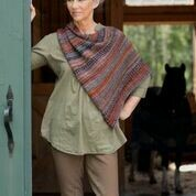 Broderie Shawl Pattern FREE with purchase of Berroco Millefiori yarn recommended in pattern