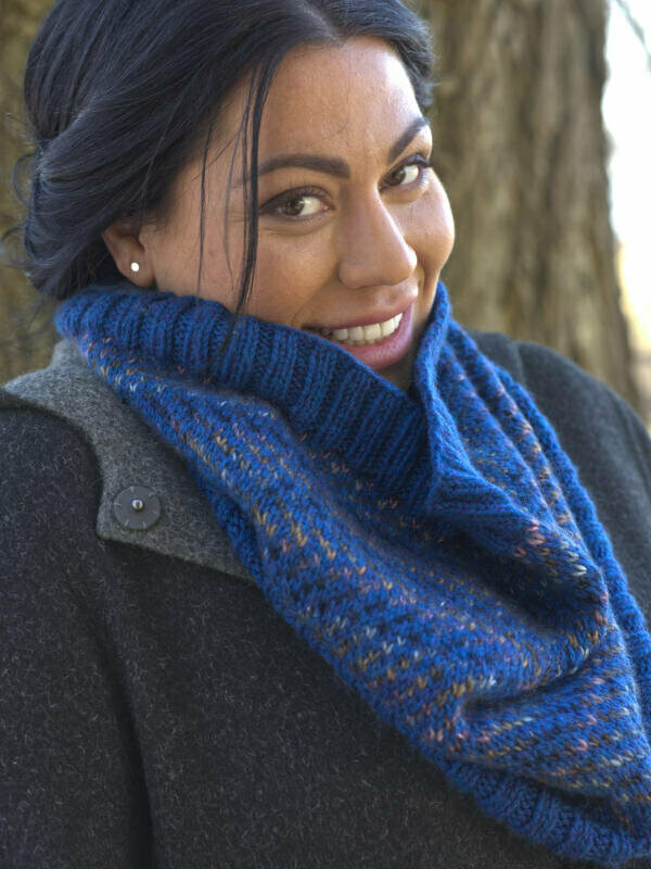 Alluvial Cowl Pattern FREE with yarn purchase recommended in pattern