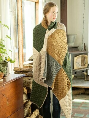 Norah Gaughan's Afghan-priced by kit choice