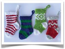 Christmas Mini Ornaments  Patterns
