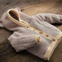 Appalachian Woodland Baby Bear Cardigan Pattern