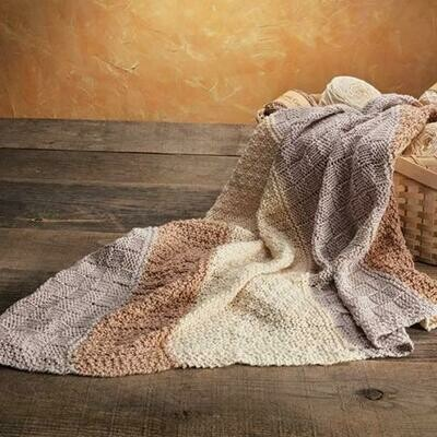 Appalachian Pick A Knit Blanket Pattern