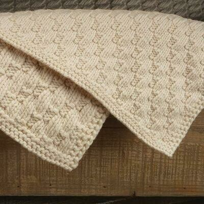 Appalachian Stair Step Blanket Pattern