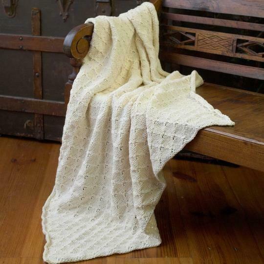 Appalachian Soft Baby Blanket Pattern