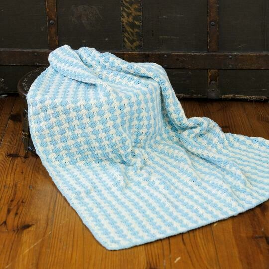 Appalachian Campbell Baby Blanket Pattern