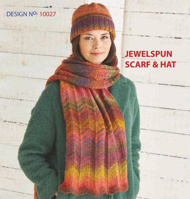 Jewelspun Scarf and Hat Kit