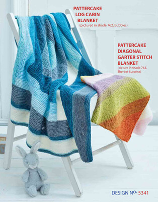Sirdar Diagonal Garter Stitch Blanket Kit