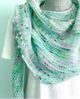 Breathe and Hope (Casapinka) Shawl Kit - Baah Yarn
