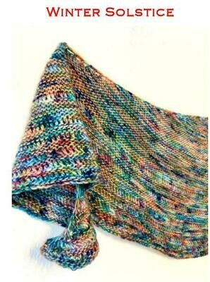 Winters Solstice FREE pattern with purchase of Baah yarn in pattern