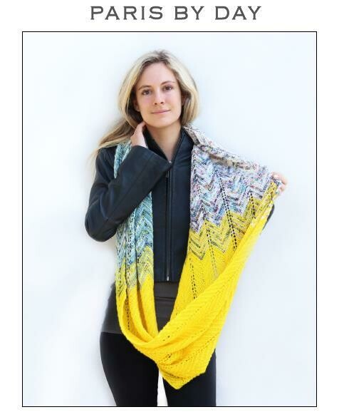 Paris by Day FREE pattern with purchase of Baah yarn recommended in pattern
