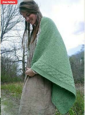 Capron-FREE pattern with purchase of Berroco Remix yarn