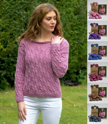 Lydia Sweater Kit - priced by size