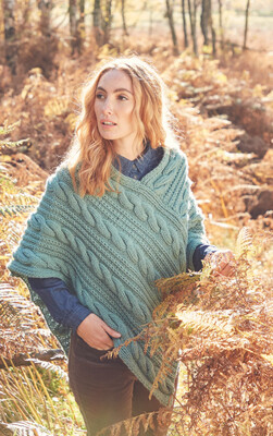 Hayfield Chunky Poncho Kit