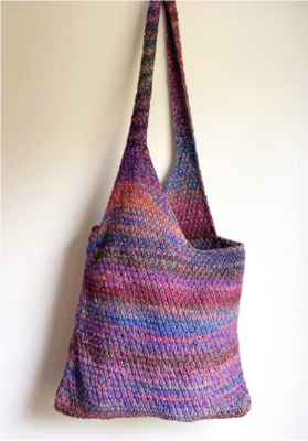 Goshen Bag Pattern: FREE with yarn purchase recommended in pattern