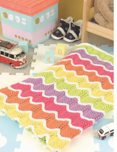 Mexican Wave Blanket Kit -priced by size