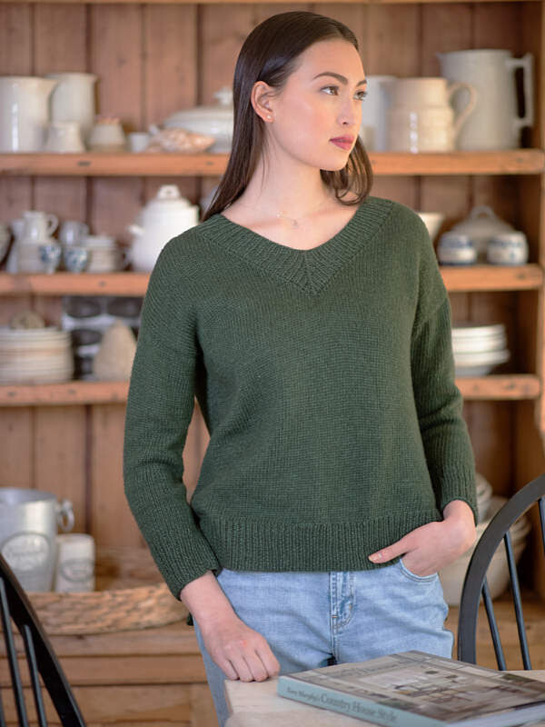 Weir Pullover Sweater Kit - priced by size