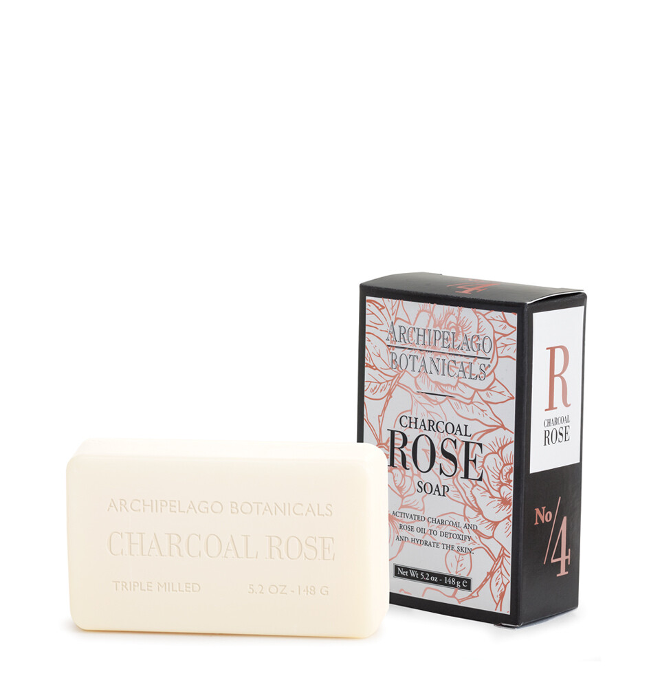 Archipelago Charcoal Rose Soap