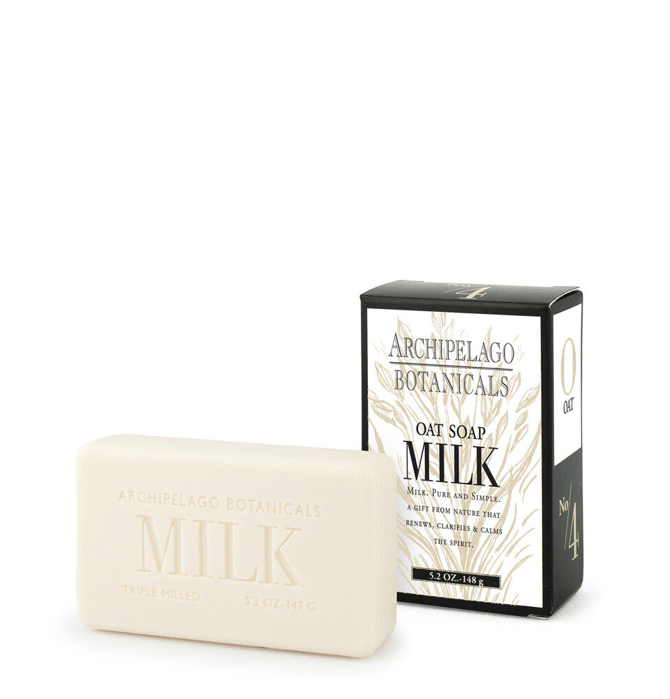 Archipelago Milk soy bar soap  5.2 ounce