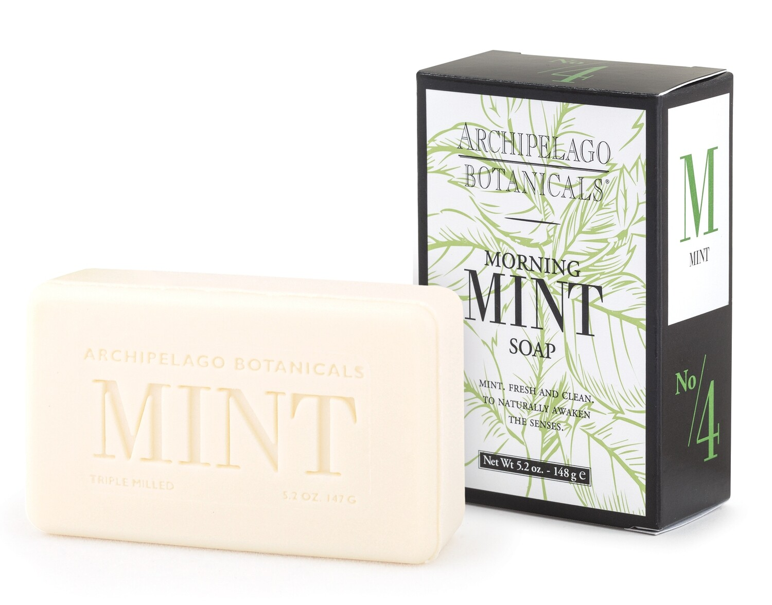 Archipelago Morning Mint bar soap
