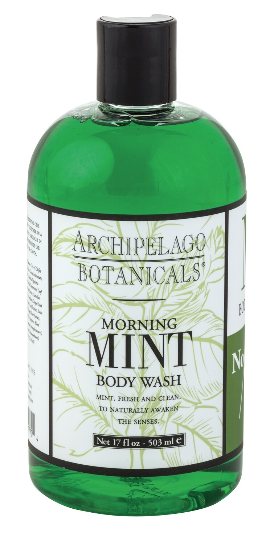 Archipelago Morning Mint body wash 17 oz