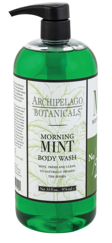 Archipelago Morning Mint body wash 33oz.