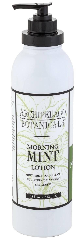 Archipelago Morning Mint lotion pump