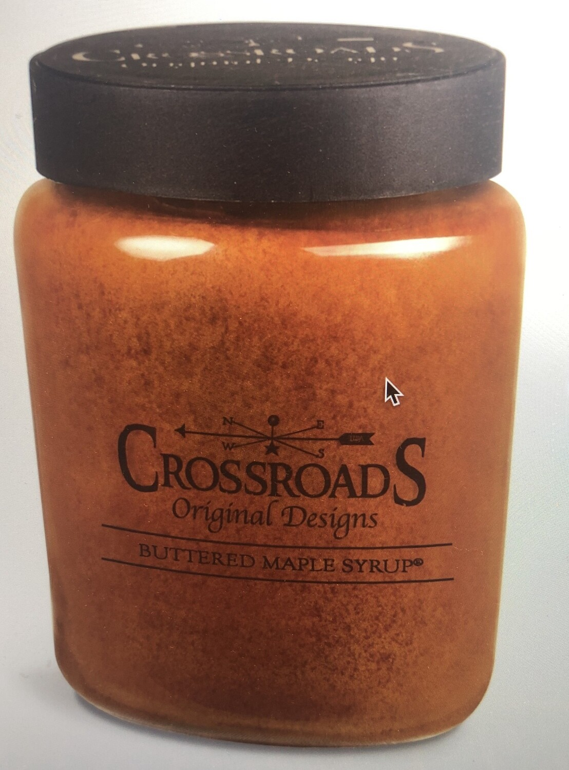 Crossroads Buttered Maple Syrup 26 oz.