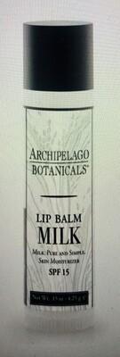 Archipelago Milk lip balm