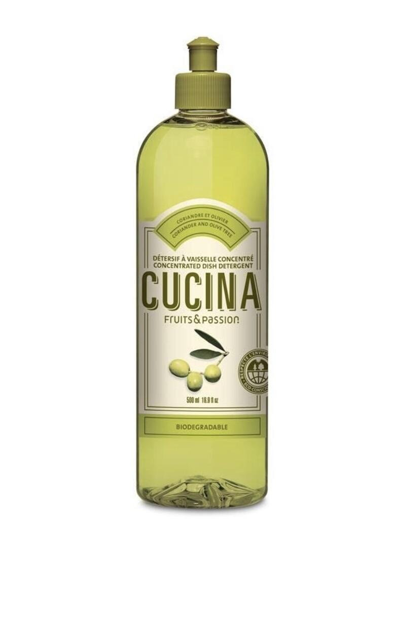 Cucina dish detergent coriander olive