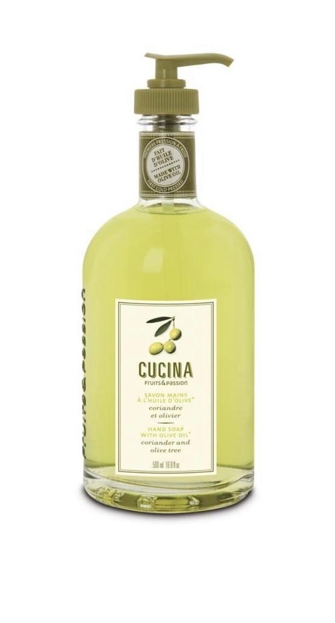 Cucina hand soap coriander olive