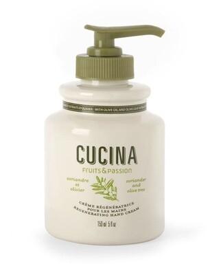 Cucina lotion pump 5 oz coriander olive