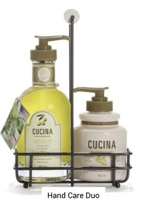 Cucina hand care duo coriander olive