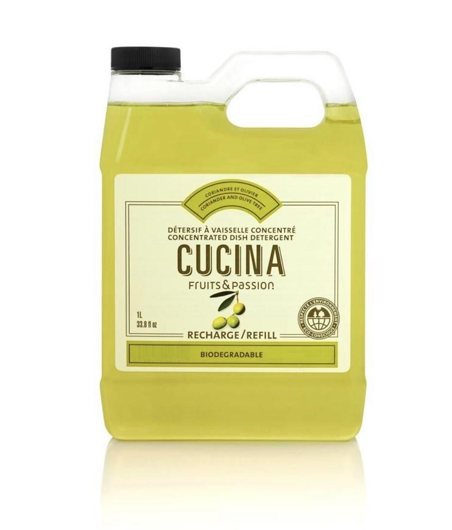 Cucina hand soap refill coriander olive