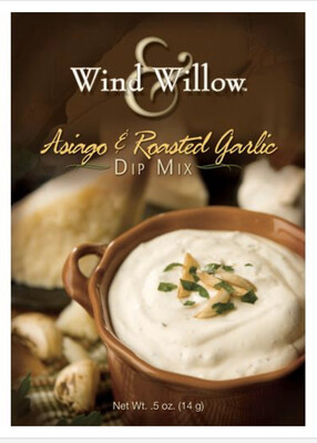 WW Asiago and roasted garlic dip mix