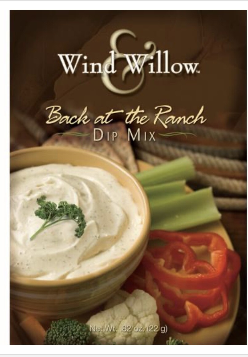 WW back at the ranch dip mix