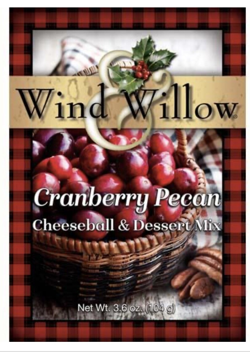 WW Cranberry Pecan Cheeseball