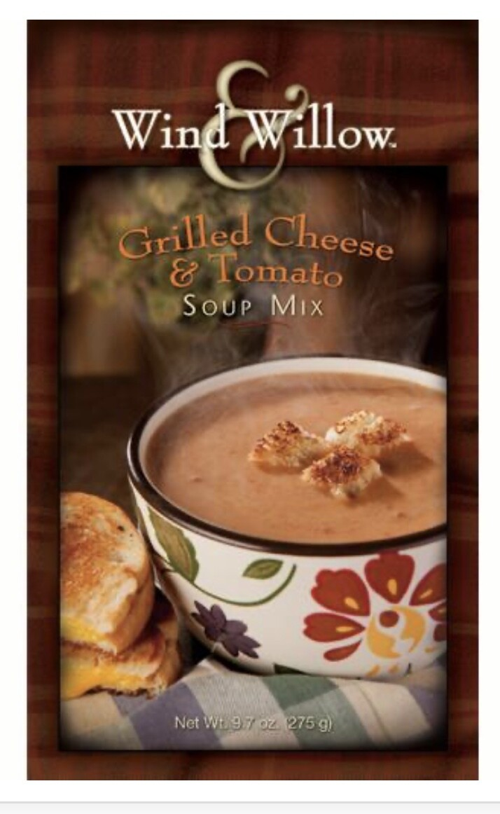 WW Grilled Cheese & Tomato soup