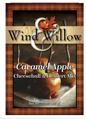 WW caramel apple cheeseball