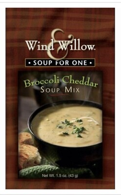WW soup for one broccoli cheddar soup mix