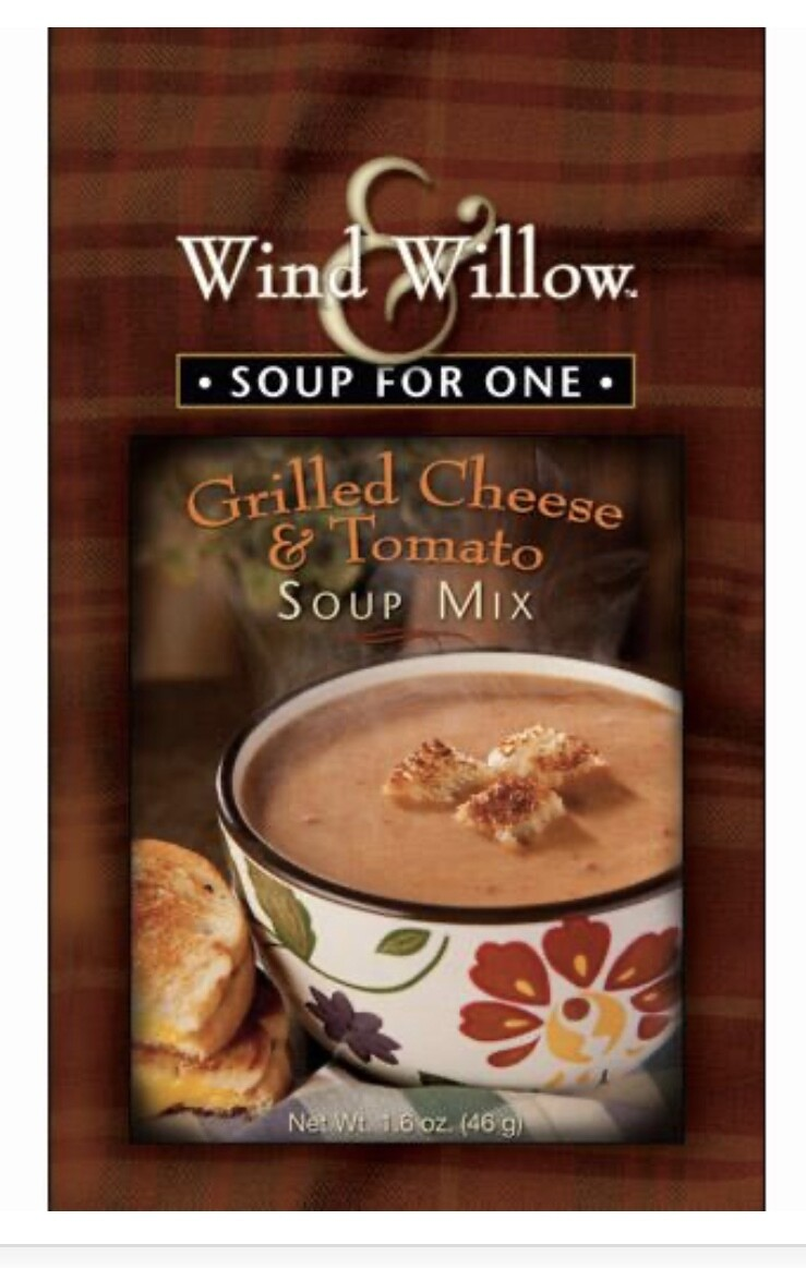 WW soup for one grilled cheese & tomato soup